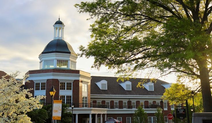 Baker Center der Ohio University